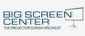 Big Screen Center | The best selection of projector screens for your home theater and business